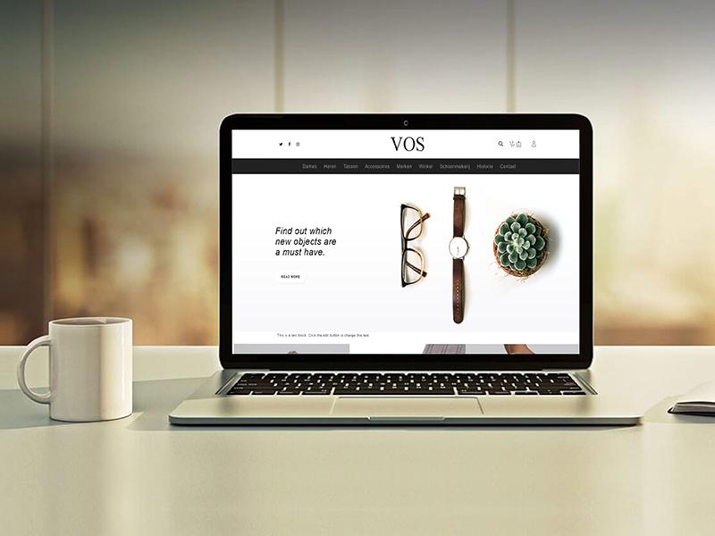website voorbeeld vos schoenen